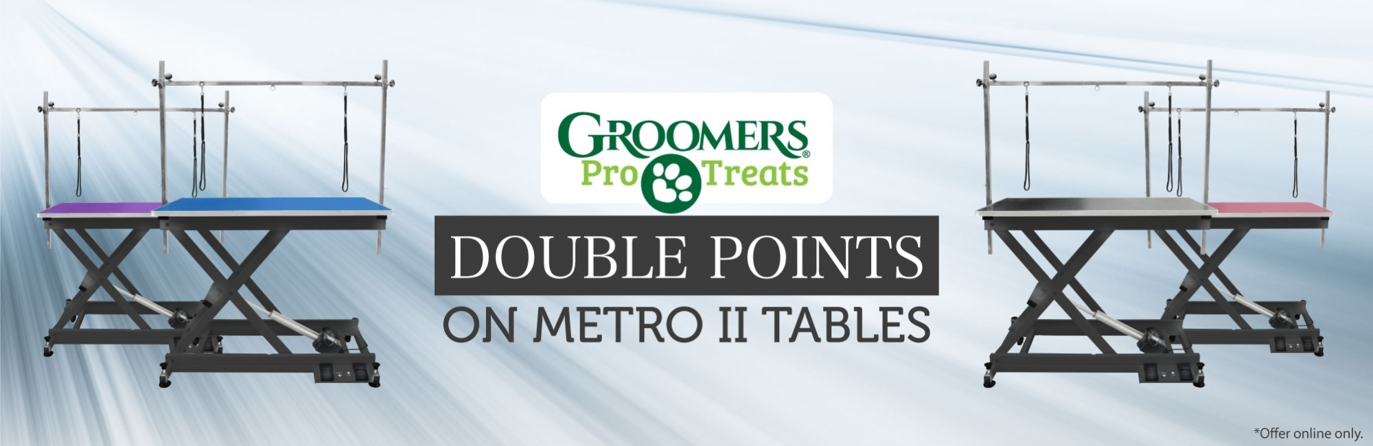 Double Pro Treat Points on the Metro II Table
