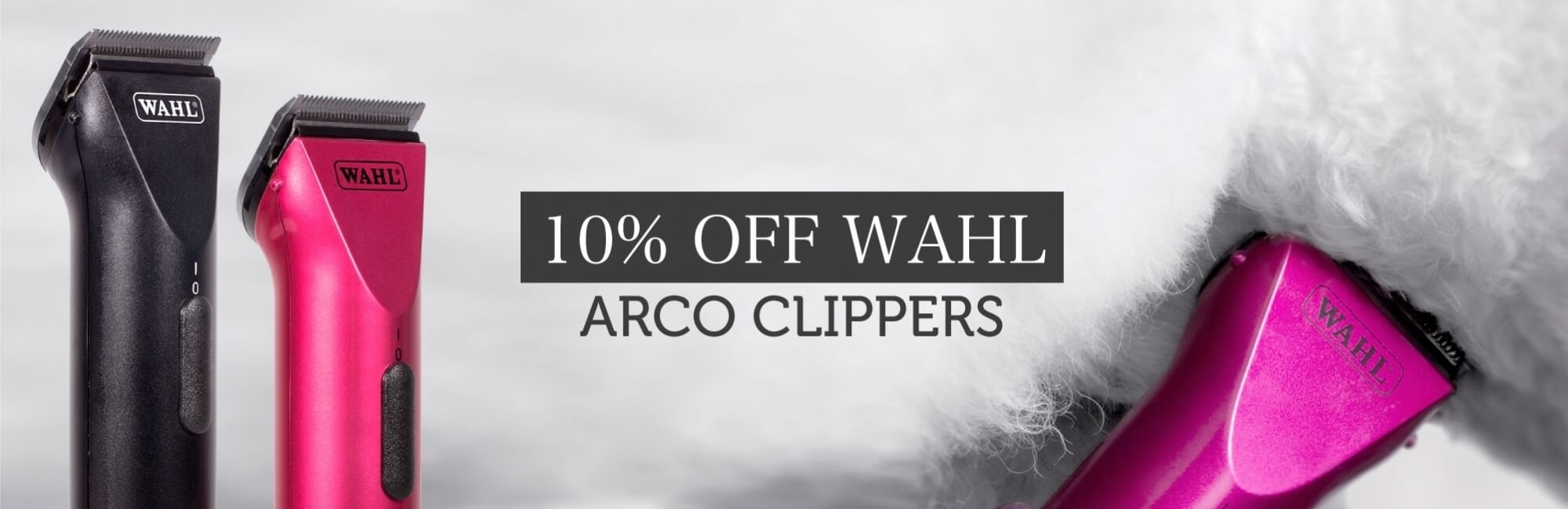 10% Off Wahl Arco Clippers