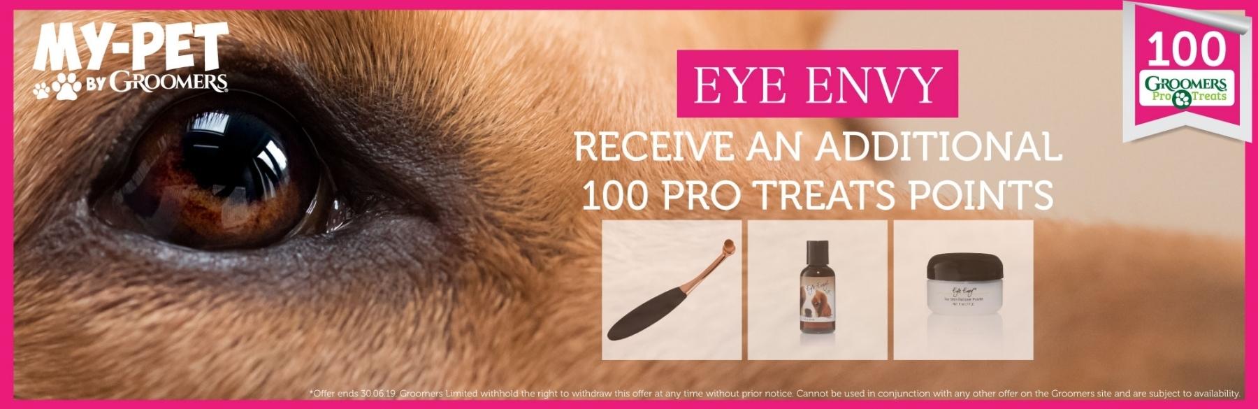 200 Bonus Pro Treat Points With Any Eye Envy Purchase