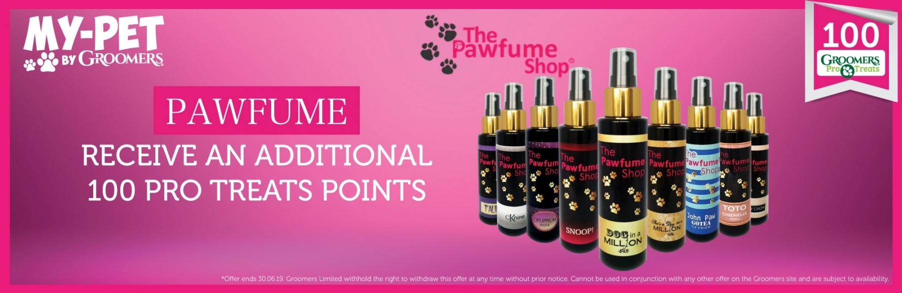 100 Bonus Pro Treat Points When You Buy A Pawfume