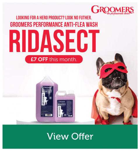 Up to £7 OFF Any Sized Groomers Performance Ridasect Anti-Flea Wash