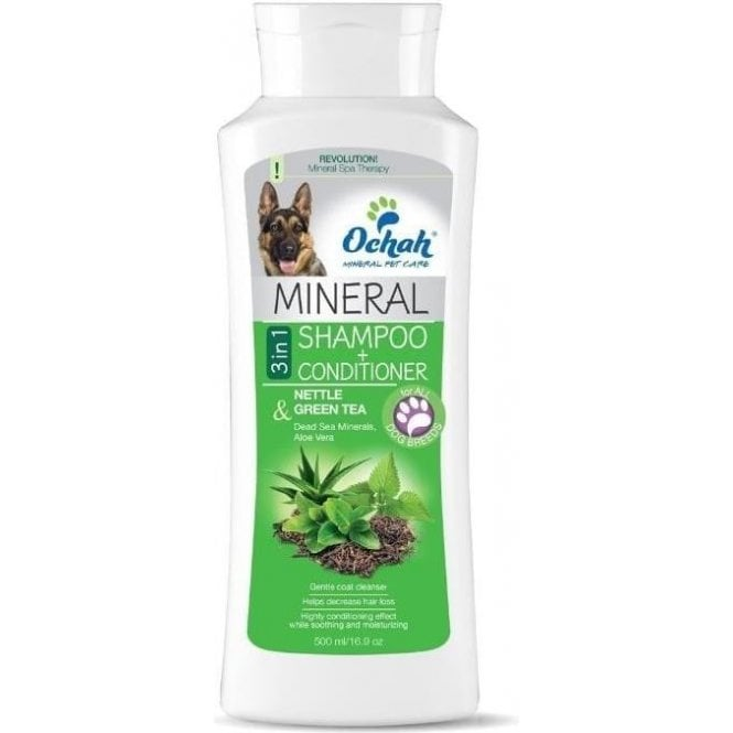 Ochah 3 in 1 Nettle & Green Tea Mineral Shampoo and Conditioner  - NEW