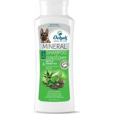 Ochah Conditioning 3 in 1 Nettle & Green Tea Mineral Shampoo