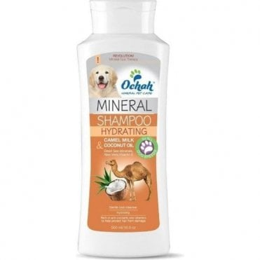 Ochah Hydrating Mineral Shampoo with Camel Milk and Coconut Oil - NEW
