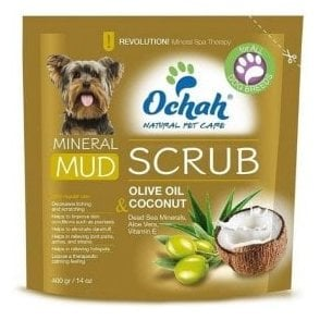 Ochah Moisturising Mud Scrub with Olive Oil and Coconut Oil - NEW
