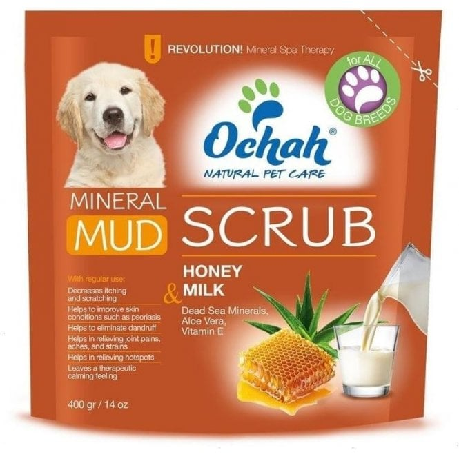 Ochah Mud Scrub with Honey and Milk - NEW