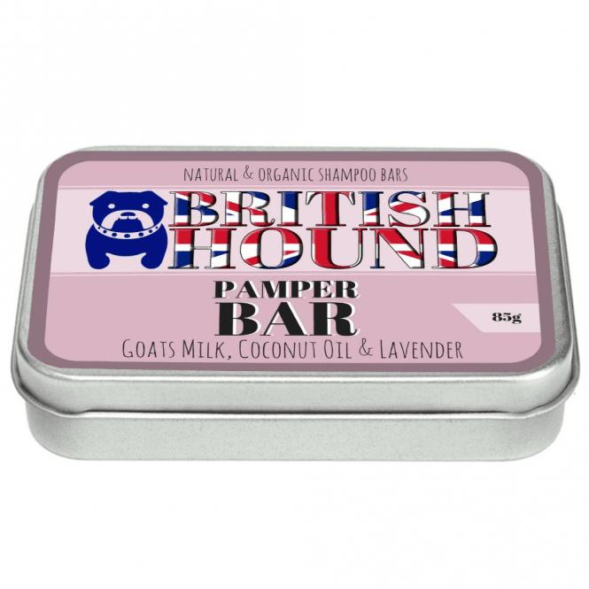British Hound Pamper Shampoo Bar - NEW