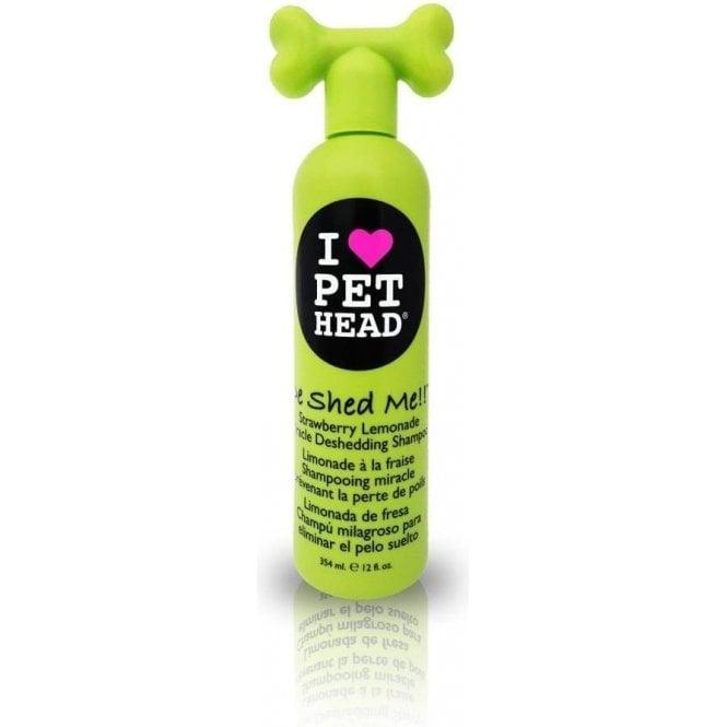 Pet Head De Shed Me Shampoo, 354ml - NEW