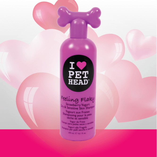 Pet Head Feeling Flaky Shampoo (475ml)