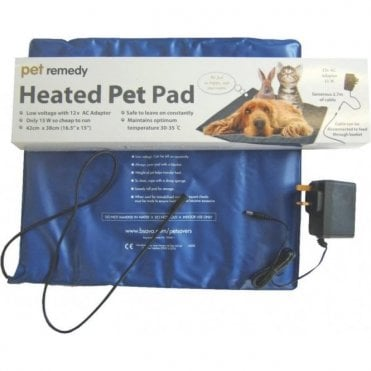 Pet Remedy Heated Pet Pad NEW