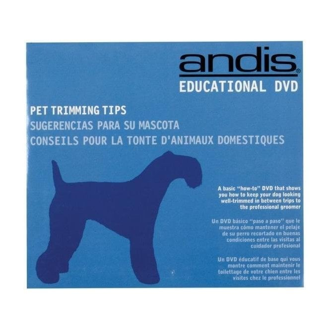 Andis Pet Trimming Tips DVD