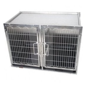 Premium Stainless Steel Waiting Cage - Large