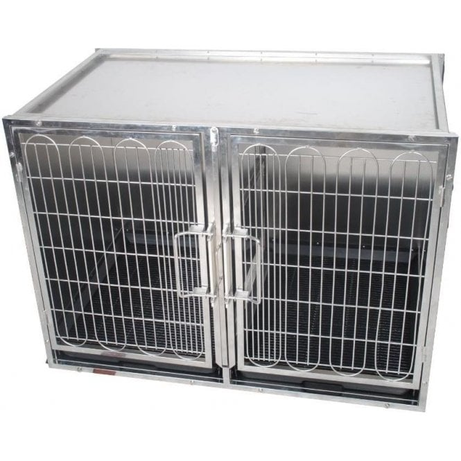 Premium Stainless Steel Waiting Cage - Medium