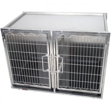 Premium Stainless Steel Waiting Cage - Medium