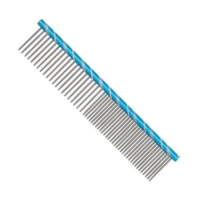 Prestige 16cm Combination Comb - Blue