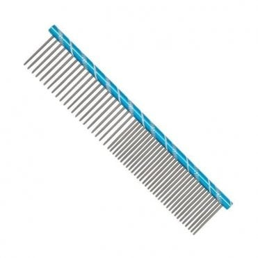Prestige 16cm Combination Comb - Blue