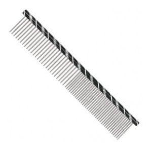Prestige 19cm Combination Comb - Black