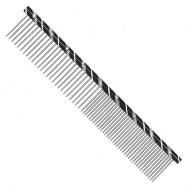 Prestige 19cm Combination Comb - Black