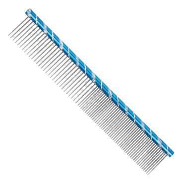 Prestige 25cm Combination Comb - Blue