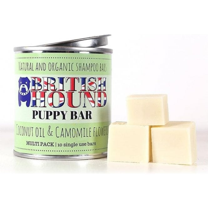 British Hound Puppy Shampoo Bar Multi Pack - NEW