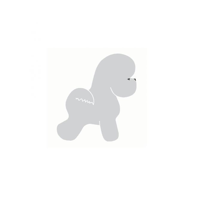 Groomers Small Bichon Sticker
