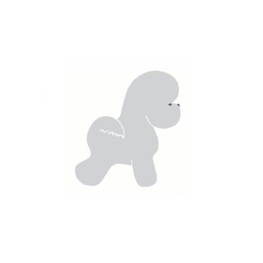 Small Bichon Sticker