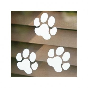 Small Paw Print Sticker
