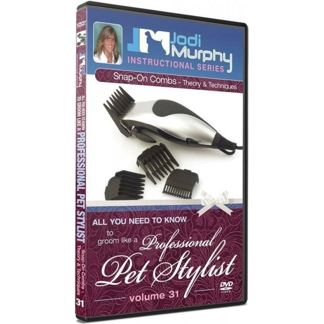 Jodi Murphy Snap-on Combs - Theory and Techniques DVD