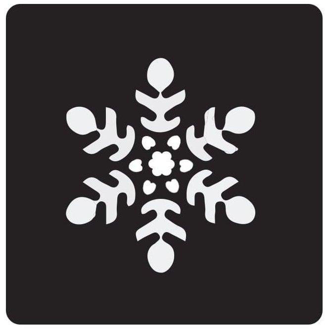 Pet Paint Snowflake Stencil