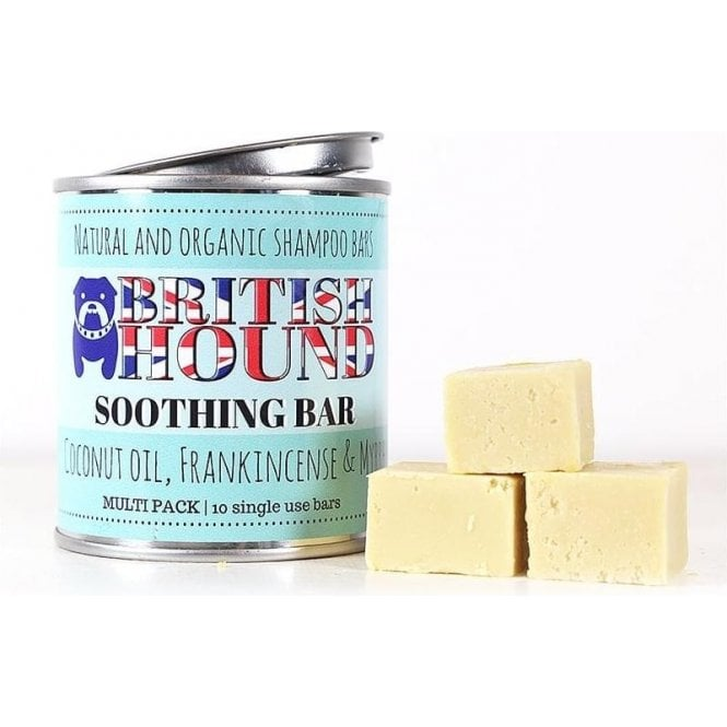 British Hound Soothing Shampoo Bar Multi Pack