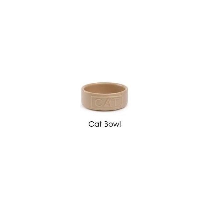 Stoneware Pet Bowl by David Mason