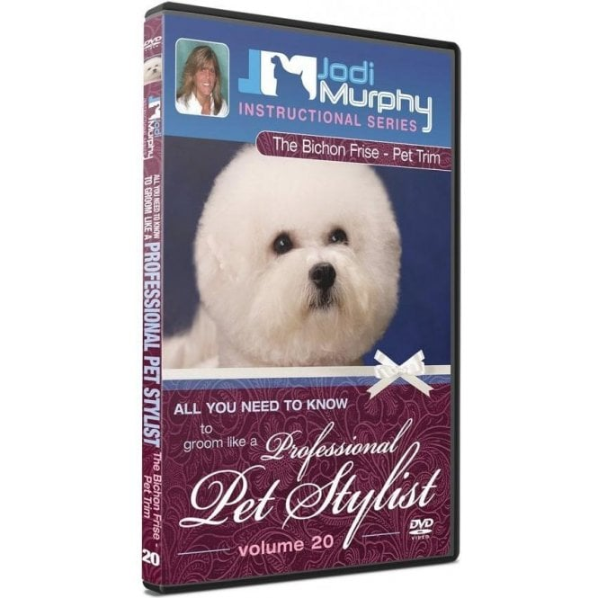 Jodi Murphy The Bichon Frise -Pet Trim DVD