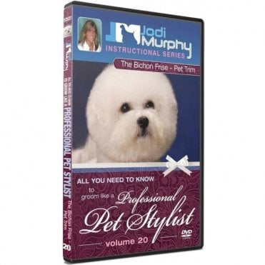 The Bichon Frise -Pet Trim DVD