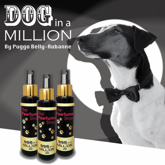 The Pawfume Shop Dog in a Million Fragrance Spray