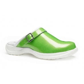 Toffeln UltraLite Patent Clogs