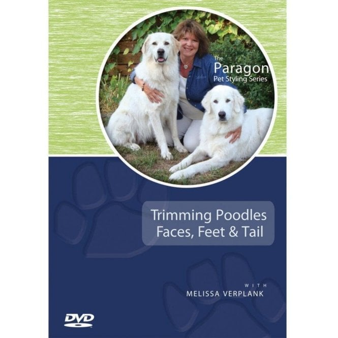 Trimming Poodles Faces, Feet & Tails DVD