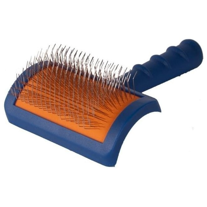 Tuffer Than Tangles Long Pin Slicker Brush - Firm Pins