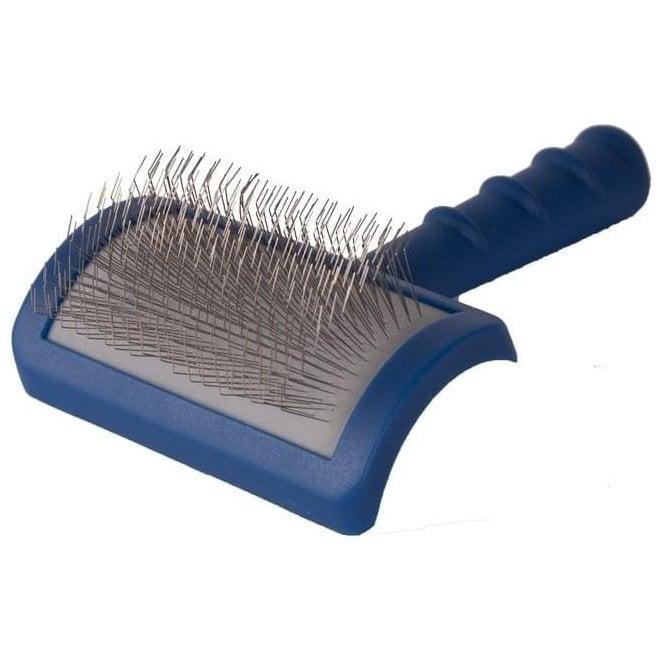 Tuffer than Tangles Long Pin Slicker Brush - Soft Pins