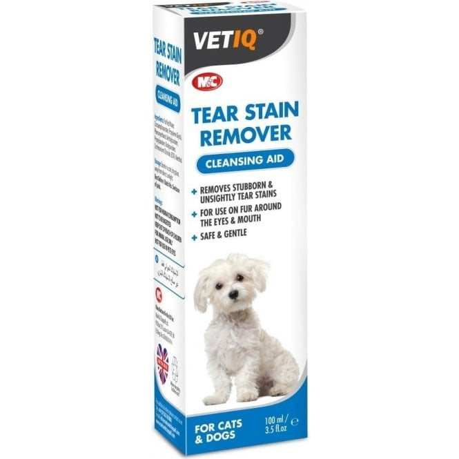 M&C VetIQ Tear Stain Remover