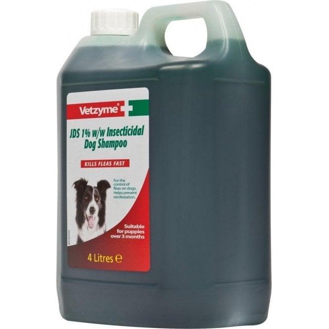 Vetzyme JDS Insecticidal Dog Flea Shampoo