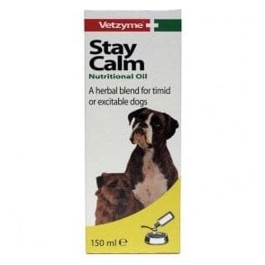 Vetzyme Stay Calm Nutritional Oil