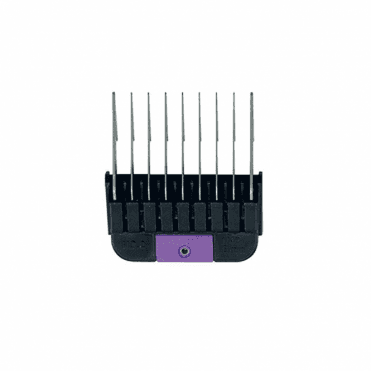 "Wahl #2 Individual Snap-On Comb – 1/4"", Purple"