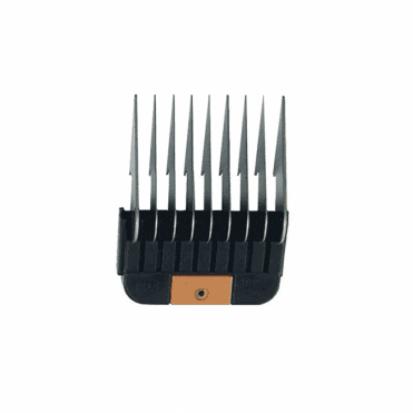 "Wahl #4 Individual Snap-On Comb – 1/2"", Peach"
