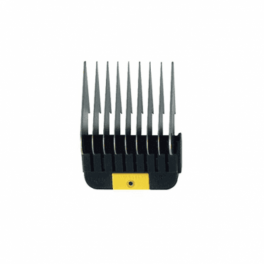"Wahl #5 Individual Snap-On Comb – 5/8"", Yellow"