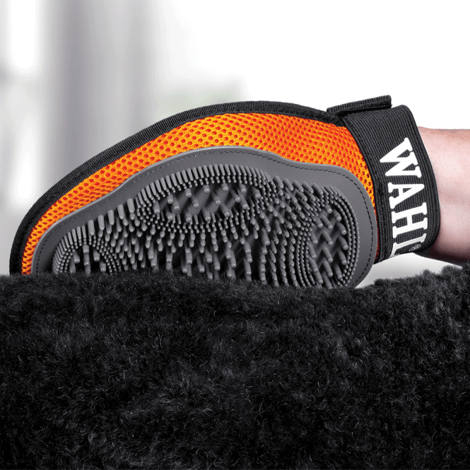 Wahl Soft Grip Gel Grooming Glove - NEW