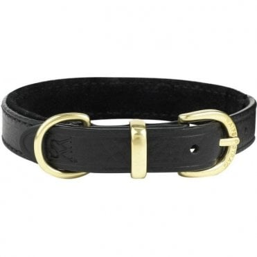 Waifs & Strays Classic Stitched Leather Collar