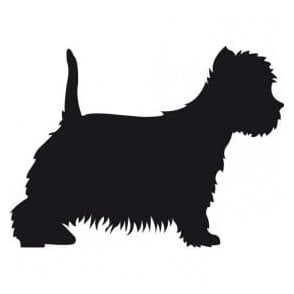 Westie Salon Sticker